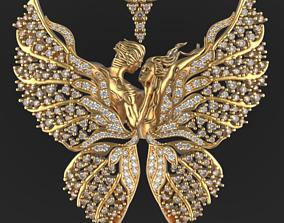 Butterfly lover 3D printable model