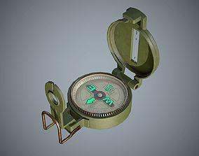 Compass 3D asset VR / AR ready