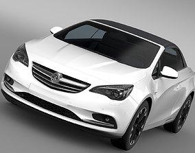 Vauxhall Cascada Turbo 2017 3D model