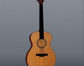 Guitar 003 3D
