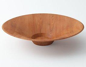 3D Wood Bowl A04