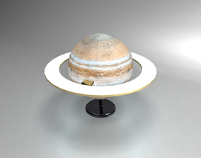 3D model Saturn Desk Lamp