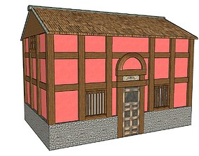 3D model Chinese Colonial Tower House