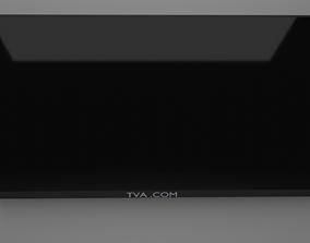 3D asset LOW POLY TV
