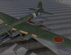 Kawasaki Ki-91 3D model