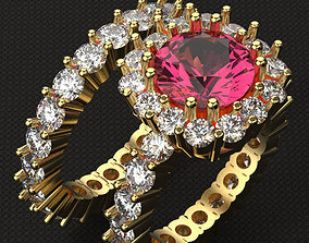 3D printable model Beautiful Brilliant ring