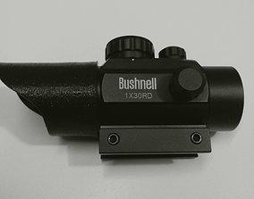 3D print model Sunshade for Bushnell 1 x 30 Red Dot