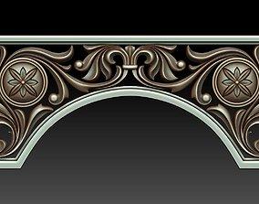Decorative arc 3D
