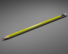 office-supply Pencil 3D