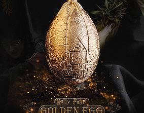 Golden Egg - Harry Potter Triwizard 3D printable model 3