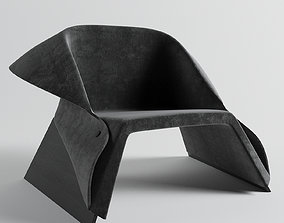 3D asset Arm Chair design