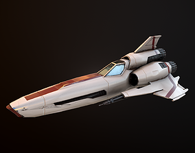 3D model Battlestar Galactica Viper Mk II