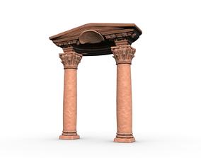 3D model Corinthian Column