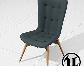 Grant Featherston R152 Chair 3D asset