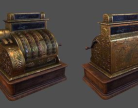 3D asset realtime Old Fashioned Cash Register