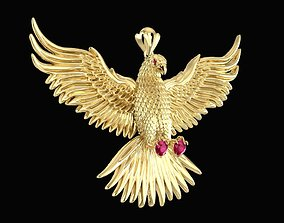 1573 Eagle Pendant New design 2019 3D print model