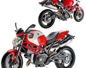 3D model Ducati Monster 796