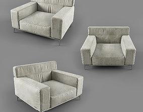 velvet 3D Arm Chair
