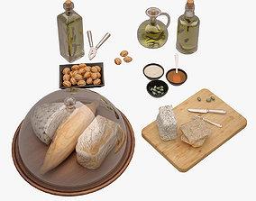 3D model Bread Board 001