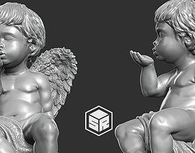 Little Angel Sculpture - 3D Print Ready