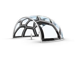 Voronoi Pavilion Stand Alone Structure v1 3D model