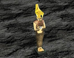 Ancient Egyptian Pharaoh 10 3D print model