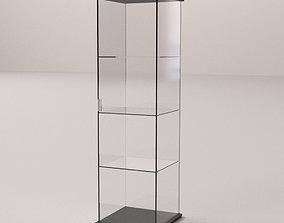 3D model Glass Display Cabinet