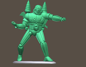 MICRONAUTS FORCE COMMANDER Mego toy soldier 3D print model
