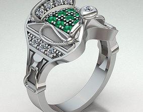 Ring Man 3D print model