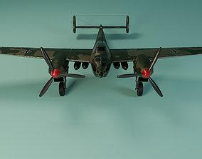 3D model Messerschmitt Bf 162 - Jaguar - The Fast Light 1