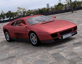 3D Ferrari 348T for DAZ Studio
