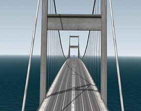 3D model Bosphorus Bridge