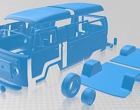 Volkswagen Kombi 2012 Printable Van diy