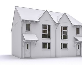 3D asset realtime Townhouse 08