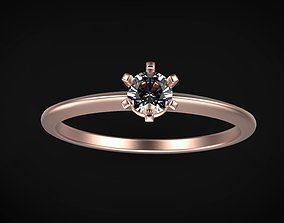 solitaire ring model gem size 3 model fashion