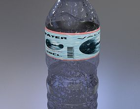 Bottled water 3D