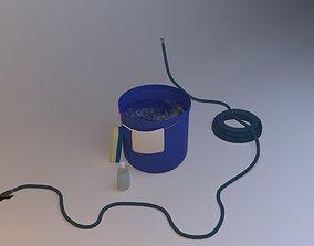Car Wash Set 1 3D model