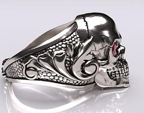 3D printable model Skull Ring bone biomechanics