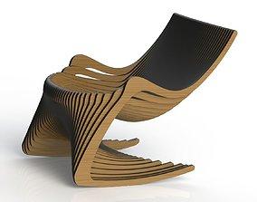 Custom Rocking Chair 3D printable model