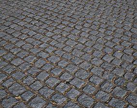 mm cobblestone 05 pavement 3D asset
