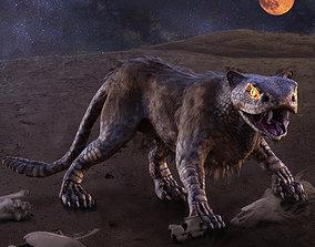 Snake Cat Monster 3D model