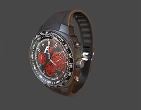 3D model Wristwatch - Dirty Old watch PBR Game Ready