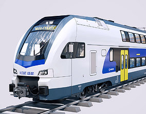 Stadler KISS Double Deck Train 3D