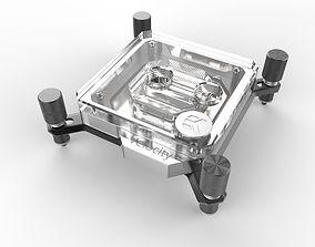 EK Velocity CPU Waterblock 3D model