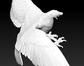 hunting flying eagle 3D print model