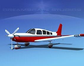 Piper Cherokee Six 300 V13 3D