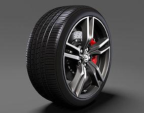 HSV Clubsport R8 Tourer Gen F2 wheel 2017 3D