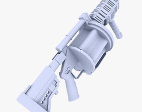 3D model Milkor MGL Multiple Grenade Launcher