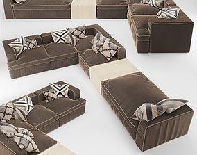 3D model Flair sofa