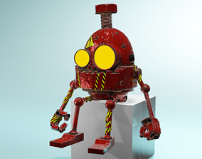 3D ROBOT without name